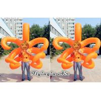 2m Height Orange Inflatable Costumes for Party and Wedding Performance Manufactures