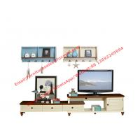 Mediterranean Style Living room Furniture by TV wall unit set stand and Storage cabinet Manufactures
