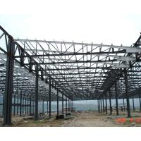 China H Section Lightweight Industrial Steel Structures Fabrication For Steel Column / Beam on sale