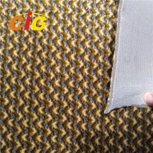 Jacquard Embossed Auto fabric with 4MM foam for Iraq Dubai Saudi Arabia Manufactures