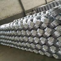China Zinc coating 0.9mm 20 Gauge Hot Dip Galvanized Iron Wire for Mesh Weaving wholesale