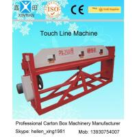 Cardboard Semi Auto Paper Carton Making Machine For Packaging / Printing Industrial Manufactures