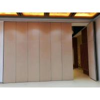 China Commercial Aluminum Operable Movable Folding Partition Walls for Classroom on sale