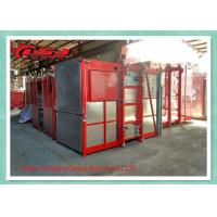 Vertical Safety Builders Man Material Hoisting Equipment High Efficiency