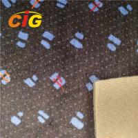 Printing Auto fabric car seat fabric polyester fabric 220GSM weight Manufactures