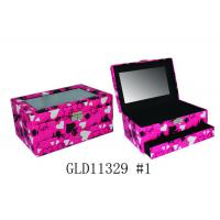 Valentine's Day Jewelry Custom Printed Cardboard Boxes Recycled With Drawer