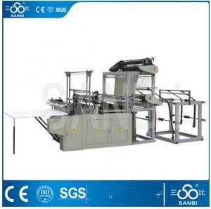 3Kw Heat Sealing Plastic Bag Making Machine For Garbage Bag / Bacteria Bag