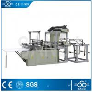 3Kw Heat Sealing Plastic Bag Making Machine For Garbage Bag / Bacteria Bag Manufactures