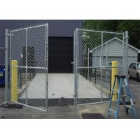 China Home garden hot dipped galvanized chain link fence , pvc coated chain link fence on sale