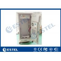 "China 19 "" Electric Outdoor Telecom Cabinet  With Heat Exchanger Cooling Double Layer wholesale"