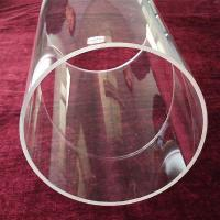 China Big Size Quartz Tube/Extrem Big Quartz Glass Tube wholesale