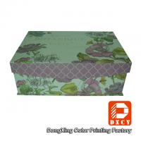 Base And Lid Custom Cardboard Packaging Boxes , Embossing Small Rectangular Cardboard Boxes Manufactures