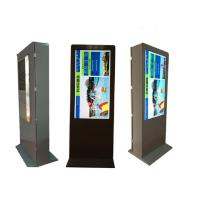 43'' 50'' 55'' HD Fashion Outdoor Interactive Kiosk advertising 1920x1080 lcd display ultra thin High Brightness Manufactures