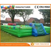 0.55 MM PVC Tarpaulin Inflatable Soccer Field Football Court Arena 1 Year Warranty Manufactures