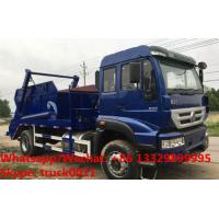 Buy cheap SINO TRUK HOWO 4*2 RHD 266HP 10-12m3 container lifter rubbish truck for sale in Sri Lanka, wastes collecting vehicle from wholesalers