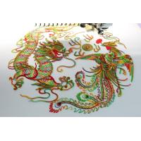 China flat bed clothes Single head home embroidery machines with cording device , 270° wide angle wholesale