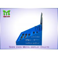 7 inch LCD Screen Printing Logo  POP Up Countertop Cardboard Display Stand Manufactures