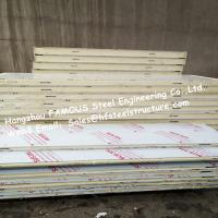 Fireproof Industrial Freezer Panels / PU Sandwich Panels With Broad Availability Manufactures