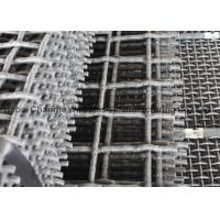 China Vibrating Stone Crushers Metal Mesh Screen , Spring Steel Wire Mesh 65Mn 45Mn on sale