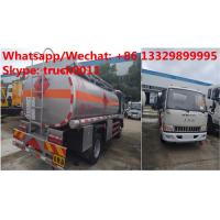 China Factory sale high quality and lower price JAC 4*2 LHD 5500L oil tanker fuel transport truck diesel tank truck on sale