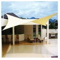 China Promotional beach Sun shade sail canopy waterproof Customized 4*6M on sale