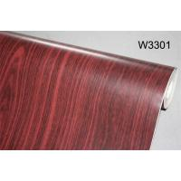 Eco - Friendly 3D Non - Pasted Living Room Wallpaper Wooden Style Wallpaper Manufactures