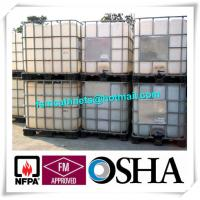 China 1000L Industrial IBC HDPE Tank , IBC Drum Tank With Galvanized Steel Framework wholesale