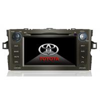 China 6.95 Inch Digital Screen 800 * 480 Double Din Special TOYOTA AURIS DVD Car Radio on sale