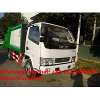China 2017s best seller-dongfeng LHD/RHD 4tons compression garbage truck for sale, Factory customized refuse garbage truck wholesale