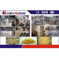China Frozen Potato Chips Processing Machine 100kg/h Three -Phase Voltage on sale