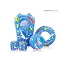 Customised Swimming Armbands For Adults , Inflatable Pool Floats 5 Pieces Set