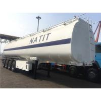 32000 to 60000 liters 4 axle Fuel Tanker Trailer  | Titan Vehicle Manufactures