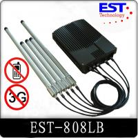 EST-808LB DCS / PHS Cell Phone Signal Jammer For Schools With High Power