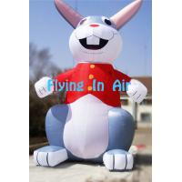 6m Printing Giant Decoration Easter Inflatable Bugs Bunny/ Inflatable Rabbit Manufactures