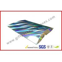 Laser Silver Card board Packaging A4 B5 Document Card Board Packaging Manufactures