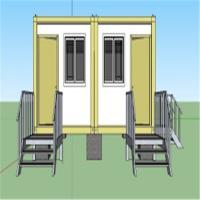 Miniature Houses for Sale/Granny Flat Modular Houses/Complete Conta house with granny flat Manufactures