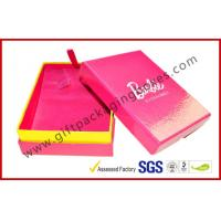 Fancy Jewellery Packaging Boxes For Valentine Gift, Pink Rigid Paper Gift Packaging Boxes Manufactures