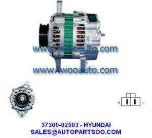 China 37300-02503 AB160108 LRA02039 - HYUNDAI Alternator 12V 60A Alternadores wholesale