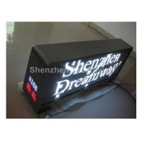 1R1G1B 5mm Taxi LED Display Dual Side 160×160mm with IP65 Waterproof