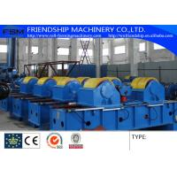 Fit Up Rolls Welding Rotators Welding Machine For Align And Assembling Shell To Shell Manufactures