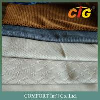 Tricot Soft Jacquard seat upholstery fabric , Many Colors upholstery fabric for cars Manufactures