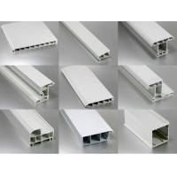 Co-extrusion OEM rigid PVC Extrusion Profiles , plastic extruded shapes Manufactures
