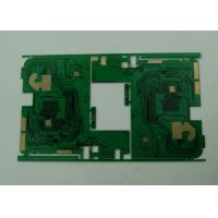 BGA Multilayer PCB Board with Stamp Holes / Vias , 6 Layer PWB