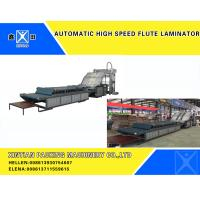 Buy cheap Automatic Hight Speed Flute Laminator Flute Corrugated Cardboard Carton Making Machine from wholesalers