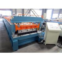China Mexico Market Width1219mm Floor Deck Roll Forming Machine 440v / 60HZ wholesale