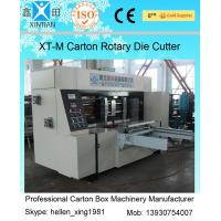Corrugated Colorful Carton Rotary Die-Cutting Machine For Die Cutting And Molding Manufactures