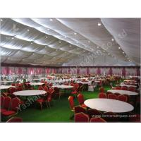 Decorated Backyard / Garden Big Wedding Tents High Strength For 1000 People Manufactures