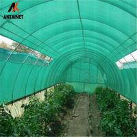 China HDPE Raschel Knitted Outdoor Shade Net / Sun Shade Netting Cloth with Shade Rate 30% - 90% on sale