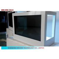 "Touch Screen Transparent LCD Showcase 32"" PC Version WIFI For Advertising Manufactures"