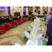 Giant Wedding Flower Inflatable Flower String for Stage and Wedding Decoration Manufactures